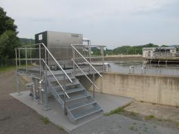 FERCHER FB-6/S-1-1 wastewater heatexchanger in a water-treatment plant